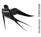 martin bird vector   Shutterstock .eps vector #358665680