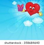 stylized heart theme image 4  ... | Shutterstock .eps vector #358684640