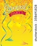carnival festive background... | Shutterstock .eps vector #358691828