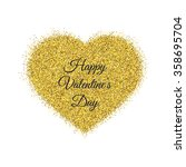 happy valentines day greeting... | Shutterstock .eps vector #358695704