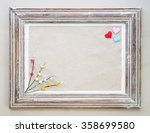 Vintage Wooden Frame With...