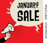 megaphone hand  business... | Shutterstock .eps vector #358712966