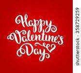 happy valentine's day card....   Shutterstock .eps vector #358729259