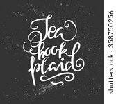 tea  book  plaid. hand...   Shutterstock .eps vector #358750256