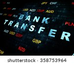 banking concept  bank transfer... | Shutterstock . vector #358753964
