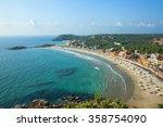 beautiful landscape of beach... | Shutterstock . vector #358754090