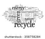 vector concept or conceptual... | Shutterstock .eps vector #358758284