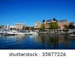 Inner Harbour   Empress Hotel ...
