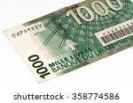 1000 Livre Bank Note. Livres I...