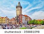 prague czech republic ... | Shutterstock . vector #358881098
