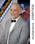 """Small photo of John Malkovich at the Los Angeles Premiere of """"Secretariat"""" held at the El Capitan Theater in Hollywood, California, United States on September 30, 2010."""