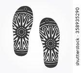 shoes sole. vector | Shutterstock .eps vector #358935290