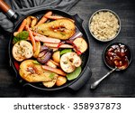Roasted Fruits And Vegetables...