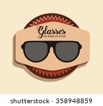 kinds and styles of glasses... | Shutterstock .eps vector #358948859