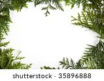 christmas frame | Shutterstock . vector #35896888