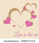 happy valentines day... | Shutterstock .eps vector #358971713