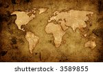 world map | Shutterstock . vector #3589855