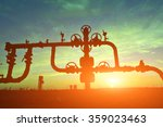 valves and piping  | Shutterstock . vector #359023463