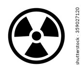radioactive   radiation symbol