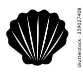 Seashell   Shellfish Flat Icon...
