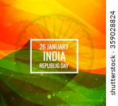 indian republic day background | Shutterstock .eps vector #359028824