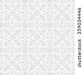 Seamless Damask Pattern. Tile