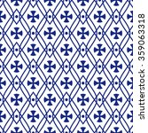 seamless ornament pattern... | Shutterstock .eps vector #359063318