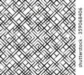 seamless geometric pattern.... | Shutterstock .eps vector #359068406