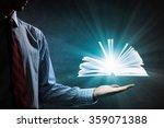 reading books concept | Shutterstock . vector #359071388