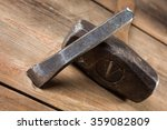 hammers on a wooden table | Shutterstock . vector #359082809