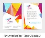 vector document  letter or logo ... | Shutterstock .eps vector #359085080