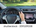 steering wheel and other...   Shutterstock . vector #359109338
