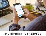 chiang mai thailand jan   3  ... | Shutterstock . vector #359129588