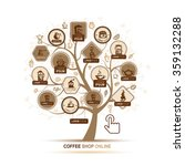 infographic concept    tree... | Shutterstock .eps vector #359132288