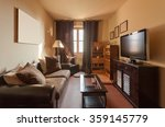 house interiors furnished  room ... | Shutterstock . vector #359145779