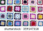 Blanket Made Of Granny Squares...