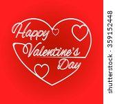 background valentine's day | Shutterstock .eps vector #359152448