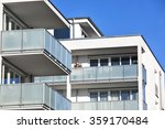 new apartment with balconies | Shutterstock . vector #359170484
