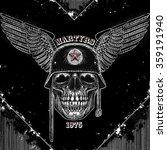 martyrs tee graphic design | Shutterstock .eps vector #359191940