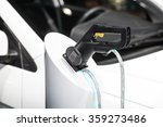 electric car's charging | Shutterstock . vector #359273486