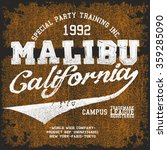 Malibu Tee Shirt Graphic