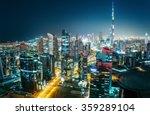 Scenic Aerial Cityscape At...