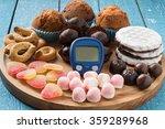 different types of sweet foods  ...   Shutterstock . vector #359289968