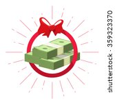 money prize win vector symbol... | Shutterstock .eps vector #359323370