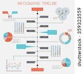infographic timeline  ... | Shutterstock .eps vector #359323559