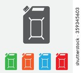 gasoline vector logo design... | Shutterstock .eps vector #359345603