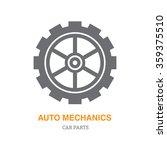 auto repair shop icon logo... | Shutterstock .eps vector #359375510