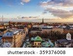 Aerial View Of Helsinki ...