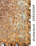 rusted metal surface and screw... | Shutterstock . vector #359410349