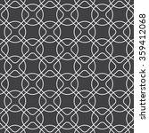 linear rounded diamond shape... | Shutterstock .eps vector #359412068